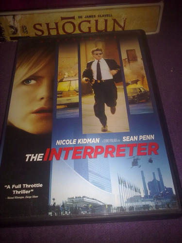 the interpreter / la interprete, nicole kidman, sean penn