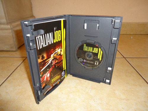 the italian job nintendo gamecube +++