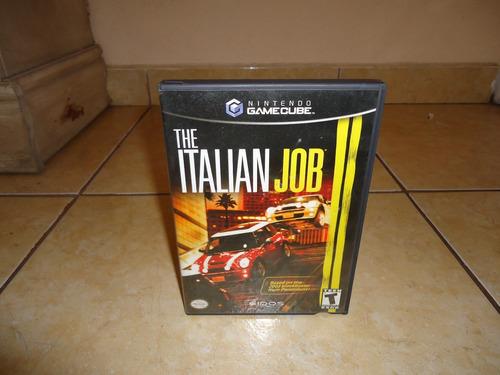 the italian job nintendo gamecube +++