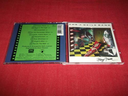 the j. geils band - freeze frame cd imp ed 1990 mdisk