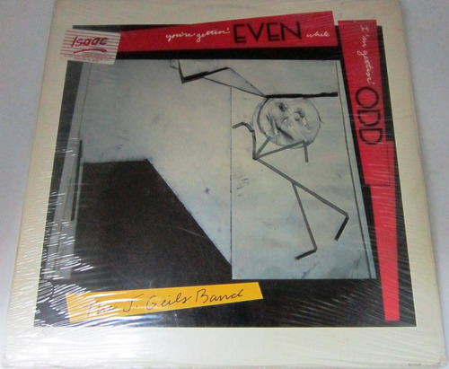 the j. geils band - you're gettin' even  import usa nuevo lp