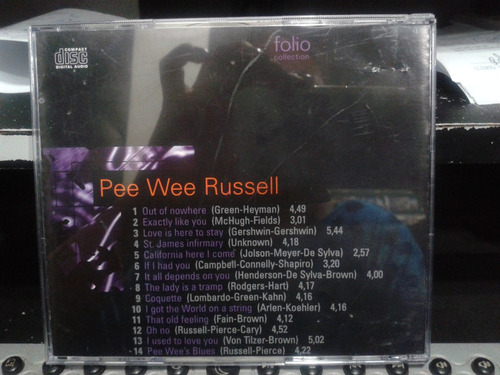the jazz masters 100 anos de swing - pee wee russell