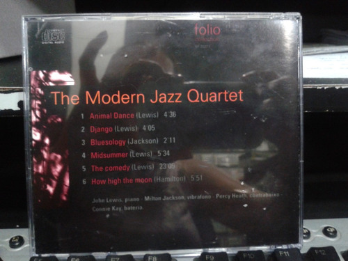 the jazz masters: 100 anos de swing - the modern jazz quarte
