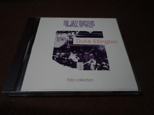 the jazz masters-cd-100 años de swing - duke ellington dmm