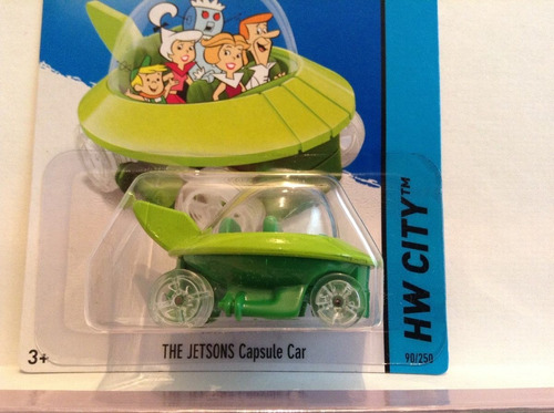 the jetsons capsule car 90/250 supersonicos hot wheels 2014
