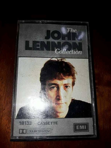 the john lennon collection cassette.-