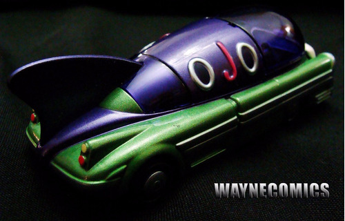 the joker batimovil guason corgi deluxe batman batmobile