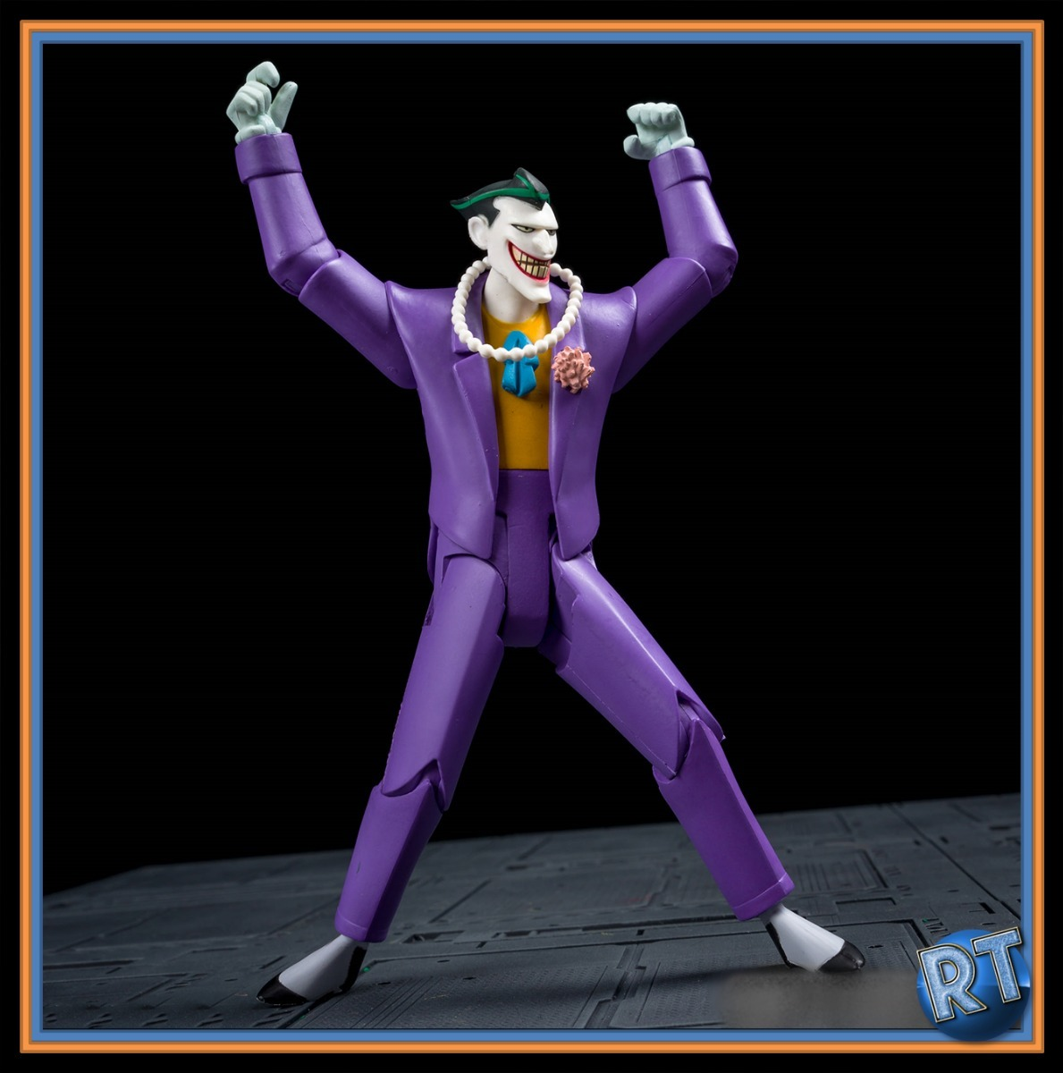 The Joker Batman Animated Series Dc Collectibles Nuevo Rt