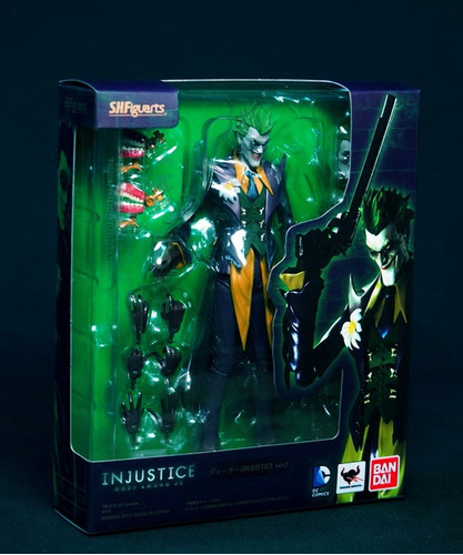 the joker injustice s h figuarts bandai batman guason dc