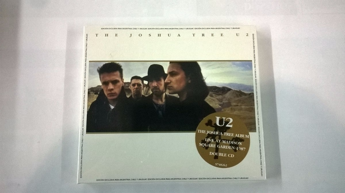 The Joshua Tree 2 Cd U2 Edic limitada 30 Años Nuevo 2019