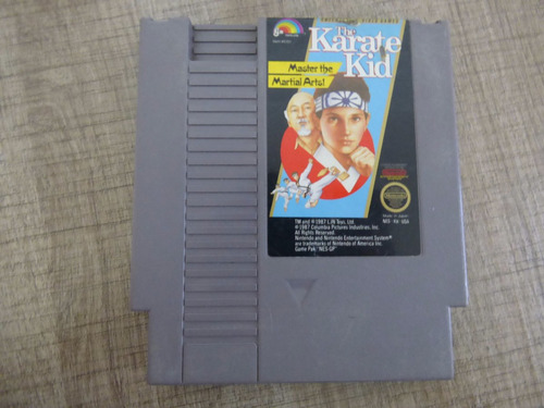 the karate kid nintendo nes zonagamz