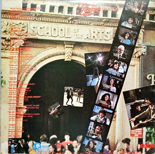 the kids from fame lp 1983 fame tv séries starmaker 13677