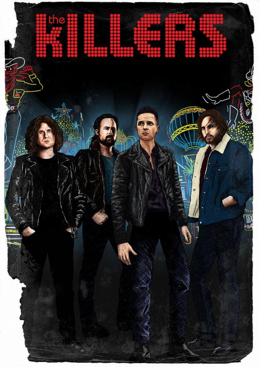 The Killers / Poster - Afiche - Cartel - Foto - Impresión