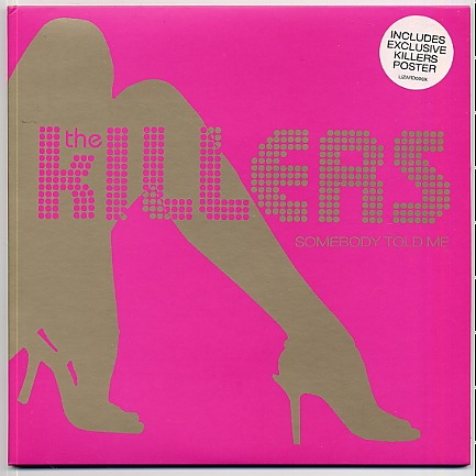 the killers somebody told me vinil rosa limited edition