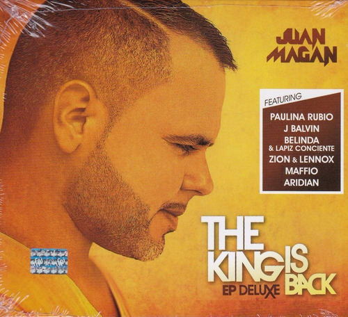the king is back ep deluxe juan magan disco cd