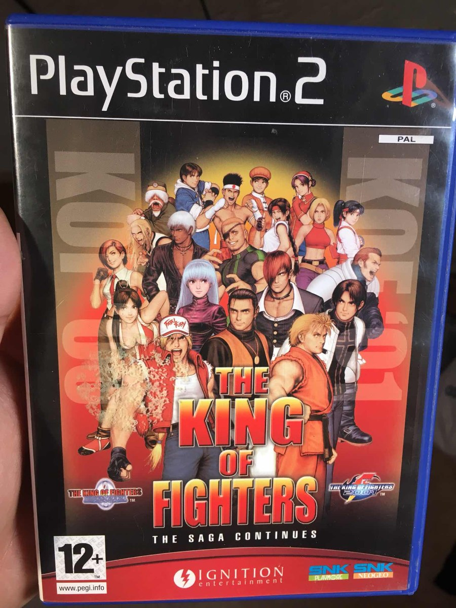 The King Of Fighters 2000 2001 Ps2 Playstation Kof 2001