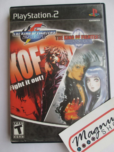 the king of fighters 2000 y 2001 para playstation 2 ps2 orig
