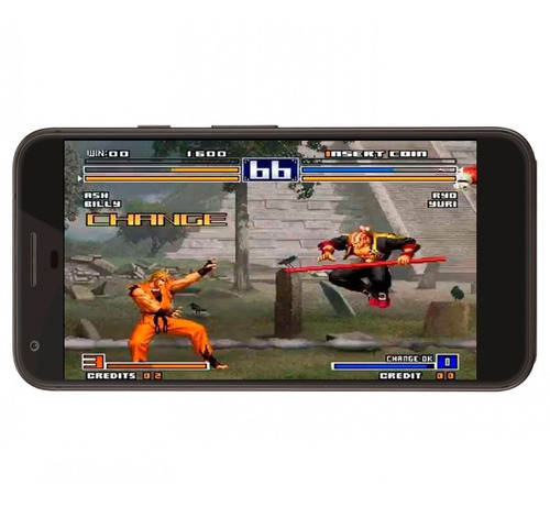 the king of fighters 97 plus celular neogeo + regalo