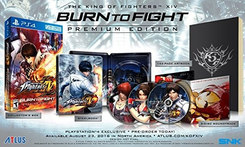 the king of fighters xiv: burn to fight premium edition - pl