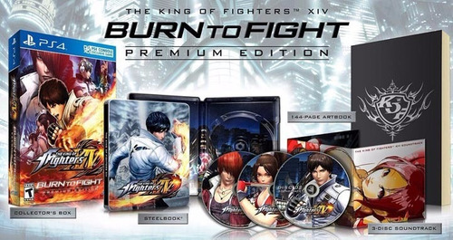 the king of fighters xiv premium edition ps4  un. limitadas