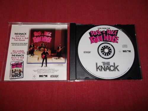 the knack - live from the funhouse cd usa ed 2002 mdisk