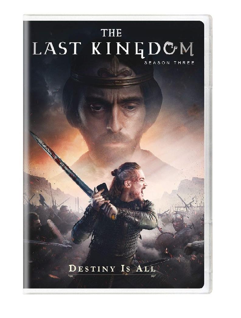 3 Temporada De The Last Kingdom the last kingdom - temporada 3 - dvd
