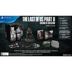 The Last Of Us Part Ii Collector Edition Ps4 Naughty Sony