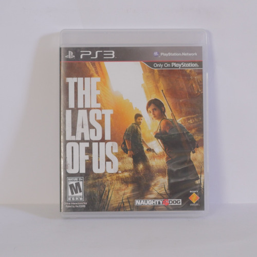 the last of us  - playstation 3  ps3