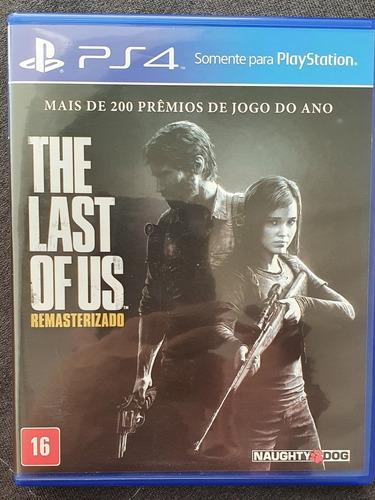 the last of us - playstation 4 - jogo - sony