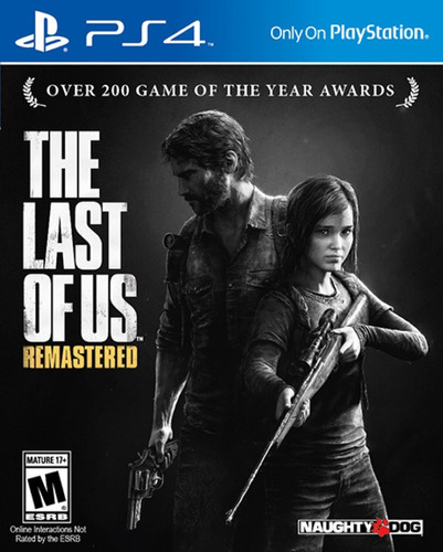 the last of us remasterizado - ps4 fisico nuevo & sellado