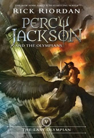 the last olympian. percy jackson 5  - rick riordan