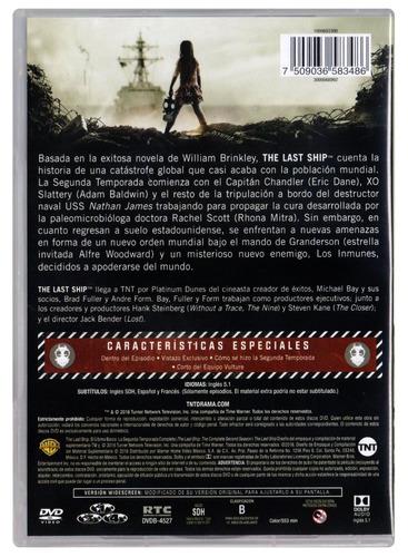 the last ship el ultimo barco segunda temporada 2 dos dvd
