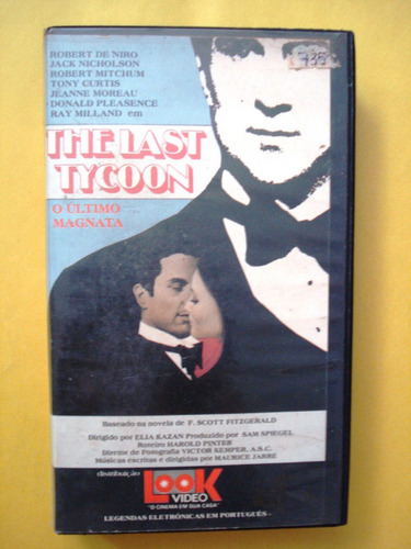 the last tycoon o ultimo magnata vhs