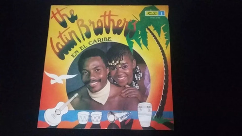 the latin brother's en el caribe lp vinilo salsa