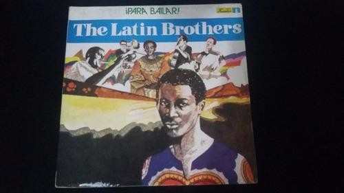 the latin brothers para bailar  lp vinilo salsa