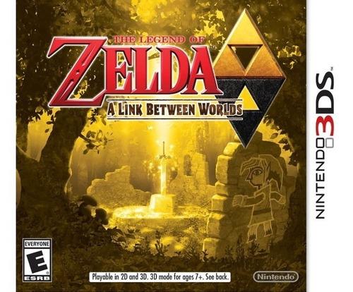 the legend of zelda: a link between worlds 3ds sellado