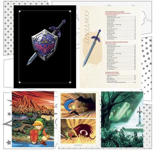 the legend of zelda art & artifacts limited edition limitada