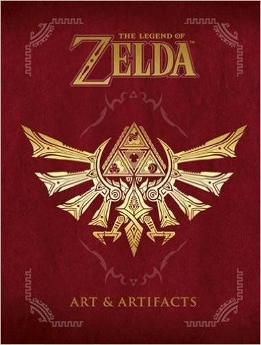 the legend of zelda art & artifacts p. dura envio gratis