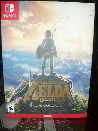 the legend of zelda breath of the wild caja special edition