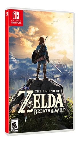 the legend of zelda breath of the wild. nintendo switch.
