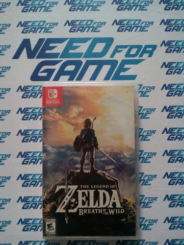 the legend of zelda breath of the wild nintendo switch nfg