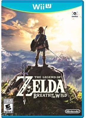 the legend of zelda: breath of the wild, wiiu en start games