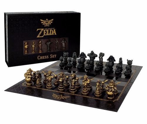 the legend of zelda chess set ajedrez