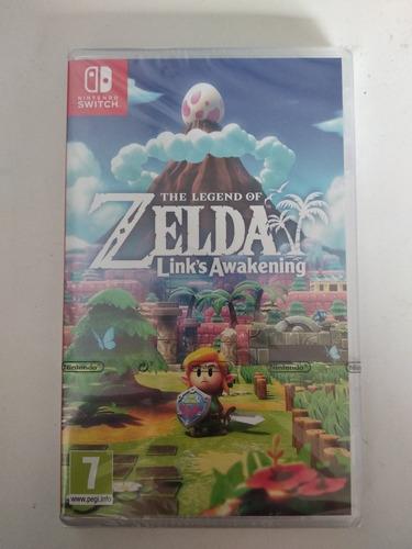 the legend of zelda link awakening nintendo switch sellado