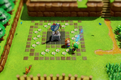 the legend of zelda links awakening/fisico sellado