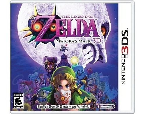 the legend of zelda: majoras mask 3d 3ds nuevo envio gratis