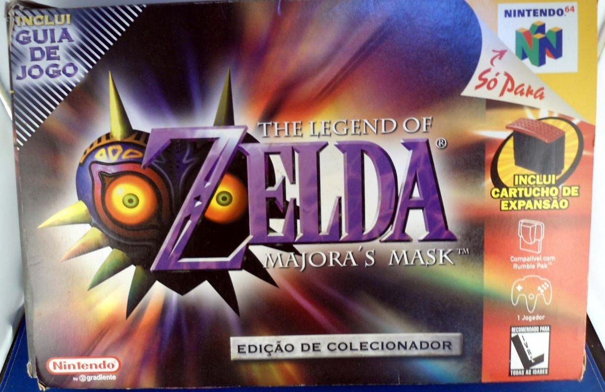 the legend of zelda majora s mask nintendo 64 cx grande r 380 27