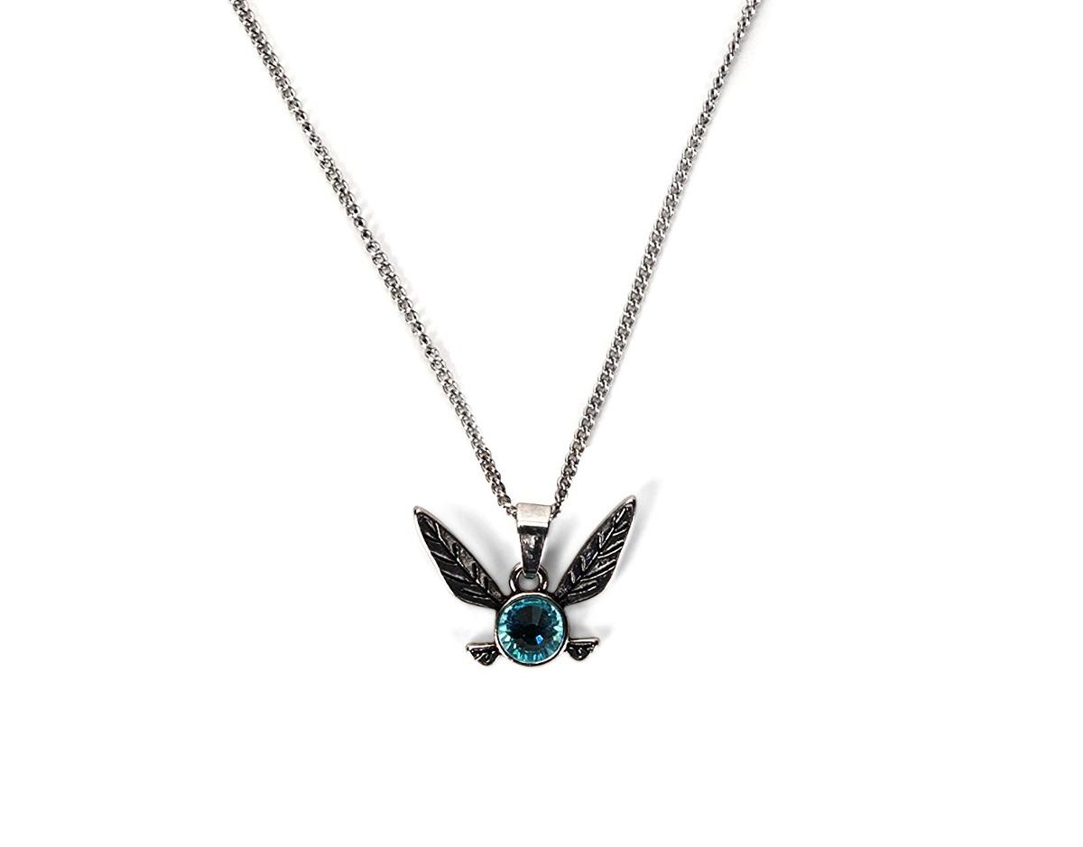 The legend of zelda navi blue gem pendant necklace 211892 en cargando zoom aloadofball Images