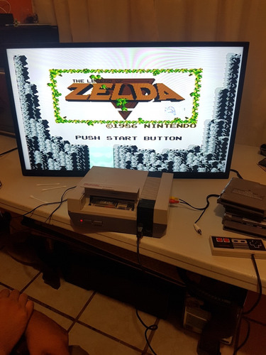 the legend of zelda  nintendo nes.