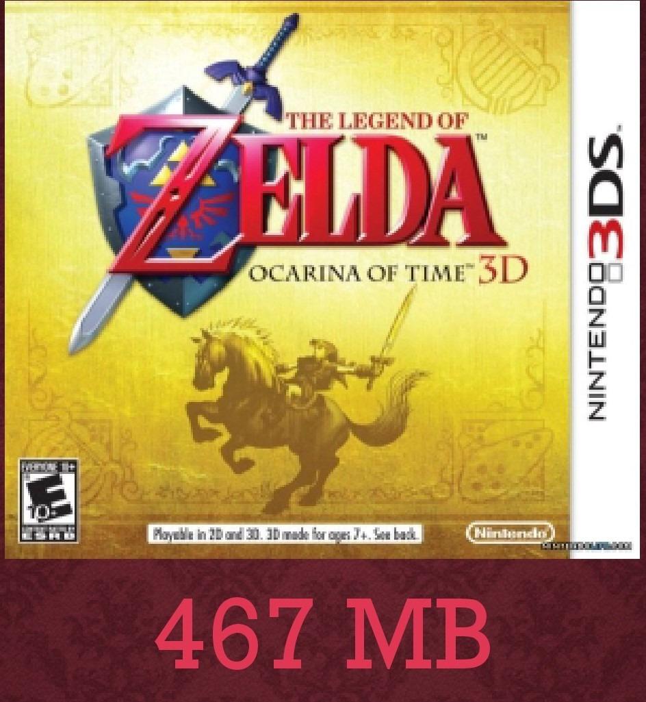 The Legend Of Zelda Ocarina Of Time Juegos Digitales 3ds Bs 8 00